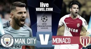 Terminata Manchester City - AS Monaco, LIVE Champions League 2016/17 (5-3): Aguero decisivo