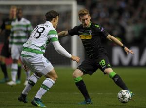 Champions League, il Gladbach passa a Celtic Park, decidono Stindl e Hahn