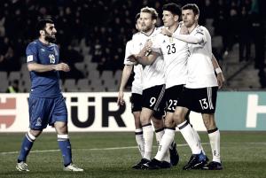 Qualificazioni Mondiali - Dura mezz'ora l'Azerbaijan, poi è dominio Germania (1-4)
