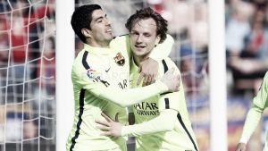 Luis Suárez se exhibe para despertar al Barça de la siesta