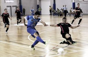 Reacción y empate para Santiago Futsal ante Peñíscola RehabMedic