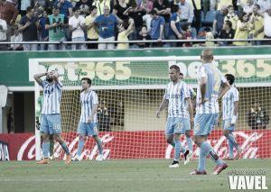 El Málaga reduce sus posibilidades de lograr alcanzar la séptima posición