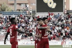 El Almería se aferra a la permanencia