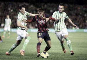 Las ganas del Betis no pueden con el Barcelona