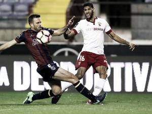 Empate entre Chaves y Braga que diluye sus aspiraciones