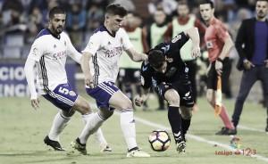 El Real Zaragoza no encuentra el gol