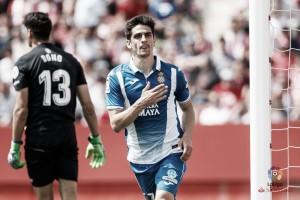 Gerard Moreno despierta al Girona del sueño europeo