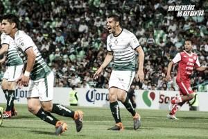 Santos Laguna hizo la tarea en Copa