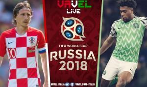 Risultato Croazia - Nigeria in diretta, LIVE Mondiali Russia 2018 - Etebo (og), Modric (r) (2-0)