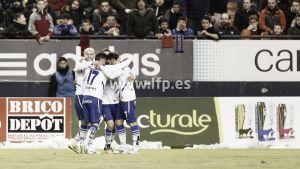 El Real Zaragoza continúa con su racha y asalta tierras navarras