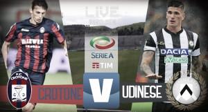 Risultato Crotone - Udinese LIVE, Diretta Serie A 2017/18: squadre in cerca di riscatto - Jankto(2), Lasagna! (0-3)