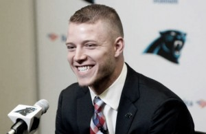 Christian McCaffrey, Carolina Panthers draft picks sign deals