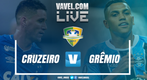 Resultado Grêmio x Cruzeiro pelo Campeonato Brasileiro 2017 (0-1)
