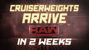 Update on Monday Night RAW's Cruiserweight division
