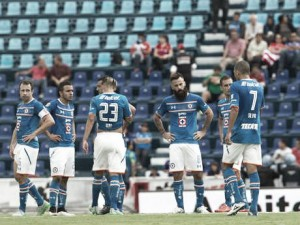 El Estadio Azul, recinto de escasos puntos
