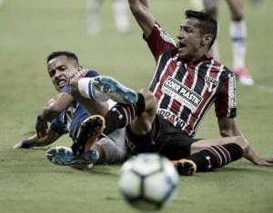 Resultado de Cruzeiro x São Paulo no Campeonato Brasileiro (1-0)