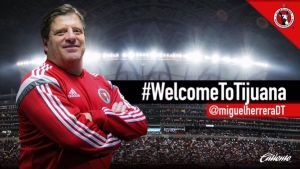 Ya es oficial, Miguel Herrera es nuevo DT de Xolos