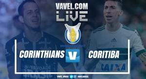 Resultado Corinthians x Coritiba pelo Campeonato Brasileiro 2017 (3-1)