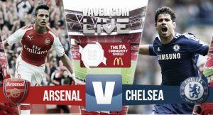 Resultado Arsenal vs Chelsea en la final de la Community Shield 2015 (1-0)