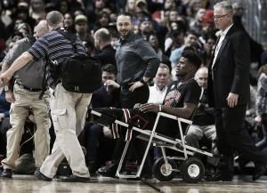 Jimmy Butler, baja indefinida por una distensión en la rodilla