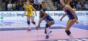Volley A1 femminile – Casalmaggiore si riprende la vetta, sorpresa Bolzano