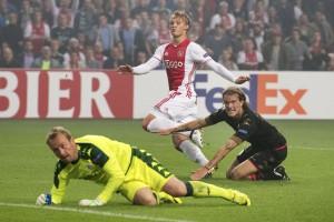 Europa League, all'Ajax basta Dolberg: Standard Liegi battuto 1-0