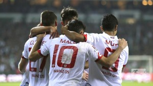 Gabala FK 2-3 1. FSV Mainz 05: Substitutes come to the rescue in historic win
