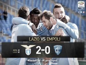 Sufrida victoria de la Lazio ante un combativo Empoli