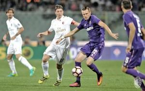 Fiorentina y Milan se ahogan en la orilla