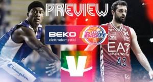 Serie A Beko - La nona giornata, due big match: Pistoia ospita Reggio Emilia, Milano a Cantù per il derby