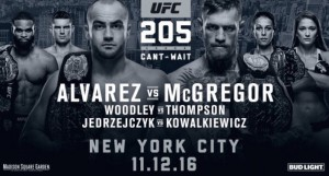 UFC 205: Conor McGregor made history by becoming the lightweight champion