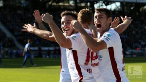 Karlsruher SC 0-31. FC Nürnberg: Fan trouble overshadows Burgstaller double