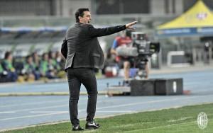 """Montella si gode il secondo posto del Milan: """"Felice per la crescita della squadra"""""""