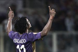 Em rede social, Cuadrado comemora extensão de contrato com a Fiorentina