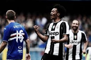 Cuadrado marca e garante vitória da Juventus sobre Sampdoria
