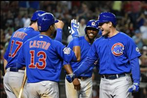 Chicago Cubs Win 9-6 Slug Fest Over Arizona Diamondbacks