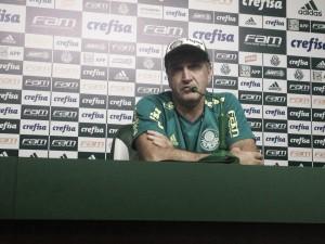 """Em reestreia pelo Palmeiras, Cuca elogia atuação de Borja: """"Tem que se sentir à vontade em campo"""""""