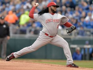 Reds' Cueto Has MRI; No Structural Damage Found