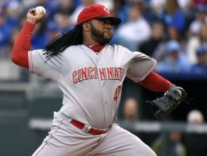 Reds Ace Johnny Cueto Scratched From Sunday Start