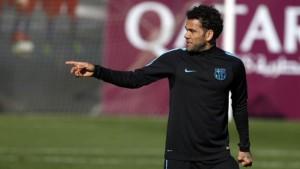 """Barcellona - Roma, Dani Alves: """"Pensiamo di poter far meglio, Florenzi grande giocatore"""""""