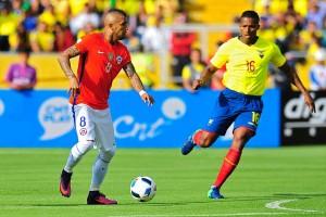 Qualificazioni Russia 2018 - L'Ecuador passeggia su un Cile in crisi (3-0)