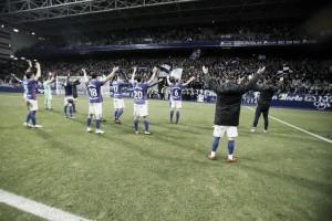 El Real Oviedo cierra el año a lo grande y como el mejor equipo de Asturias