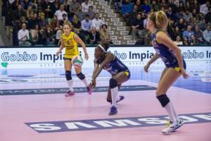Volley - Non si passa al PalaVerde, Conegliano stende Piacenza