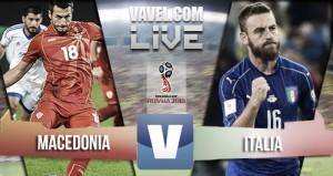 Macedonia - Italia in qualificazioni Russia 2018. Immobile salva tutto (2-3)