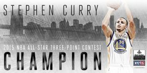 Recital de triples a cargo de Stephen Curry