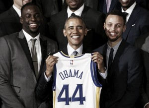 "La ""surrealista"" relación de Curry con Obama"