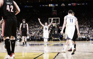 Curry se vence a sí mismo para vencer a los Blazers