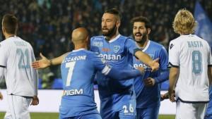El Lazio se estrella ante el muro del Empoli