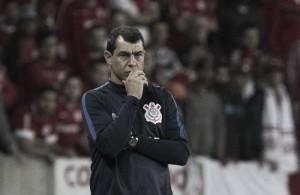 Carille avalia empate com Inter como melhor jogo do Corinthians fora de casa sob seu comando
