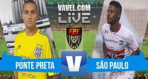 Resultado Ponte Preta x São Paulo no Campeonato Paulista 2016 (1-0)